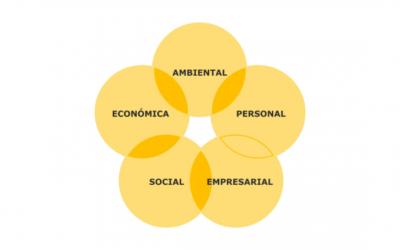 Los cinco aspectos de la sostenibilidad.